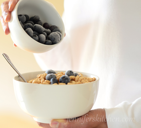 Healthier Morning Cereal