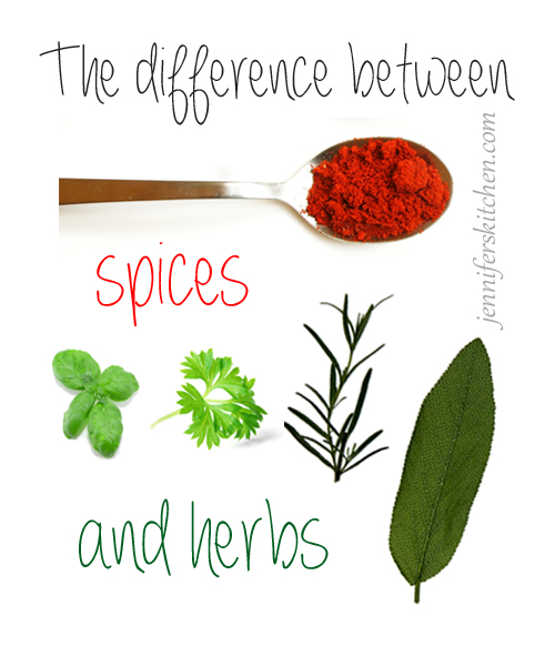 Are spices and herbs the same