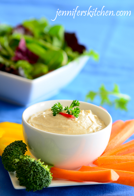 Recipe for Tahini Dip and What is Tahini?