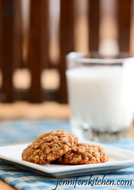 Coconut Oatmeal Cookies - Scrumptious cookies that won't ruin your diet