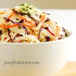 Low-fat Coleslaw – Summer Picnic Food Makeover