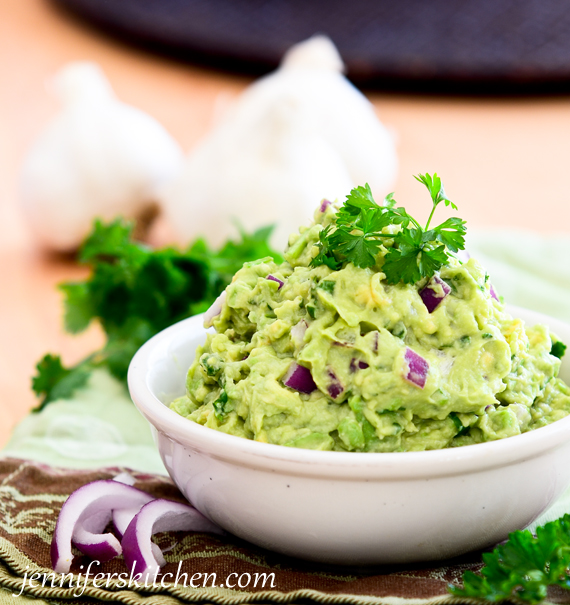 Healthy Guacamole Recipe