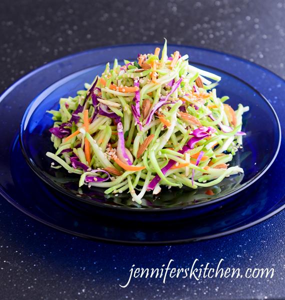 Crunchy Asian Broccoli Slaw