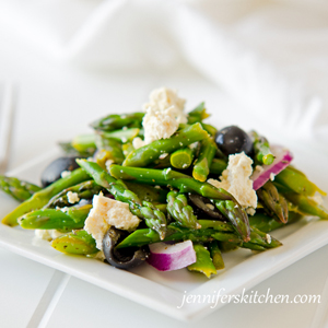 Slimming Greek Asparagus Salad Recipe
