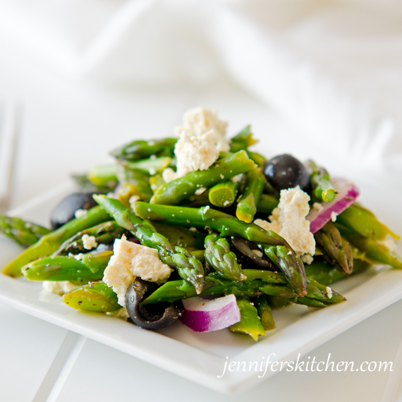 Greek Asparagus Salad Recipe