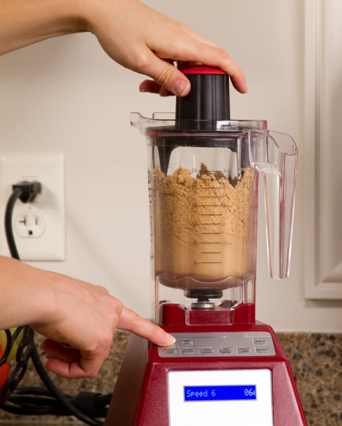 Make Homemade Nut Butter Blendtec Twister Jar