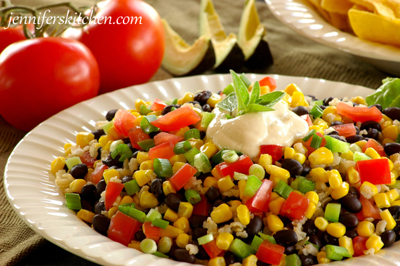 Recipe for Fiesta Black Beans and Rice