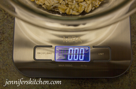 Cooking with a Kitchen-Scale