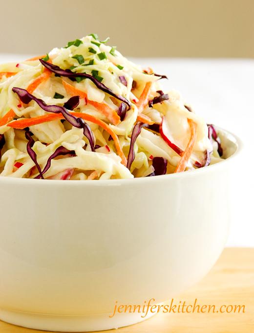 Low fat coleslaw recipe