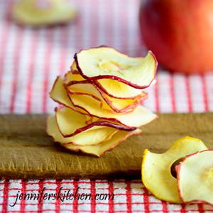 Method for Drying Apples
