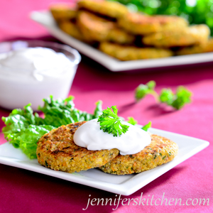 Vegan, Gluten-Free Quinoa Patties
