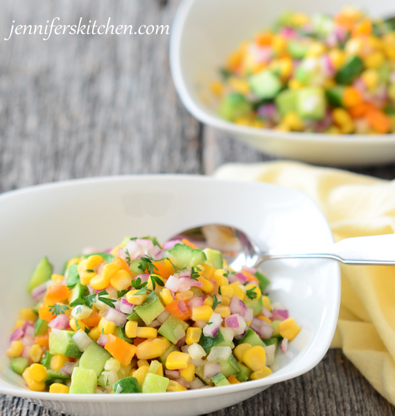 Cucumber Salad - Recipe for garden produce