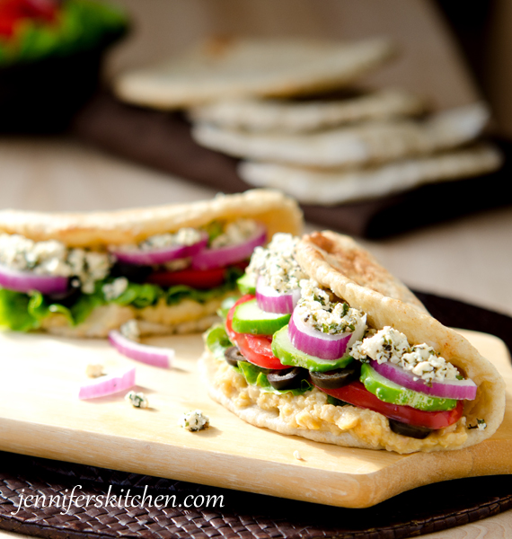 Greek Pita Sandwich Greek Pita Sandwich