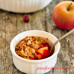 Gluten Free Cranberry Apple Crisp Recipe