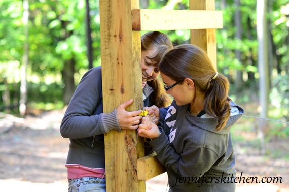 Fun working together