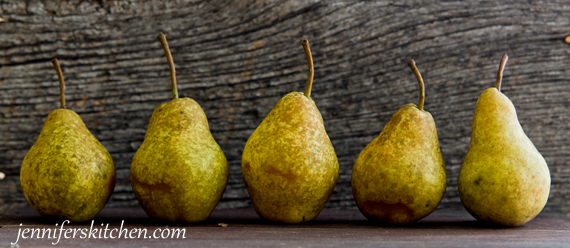 How to make canned pear sauce