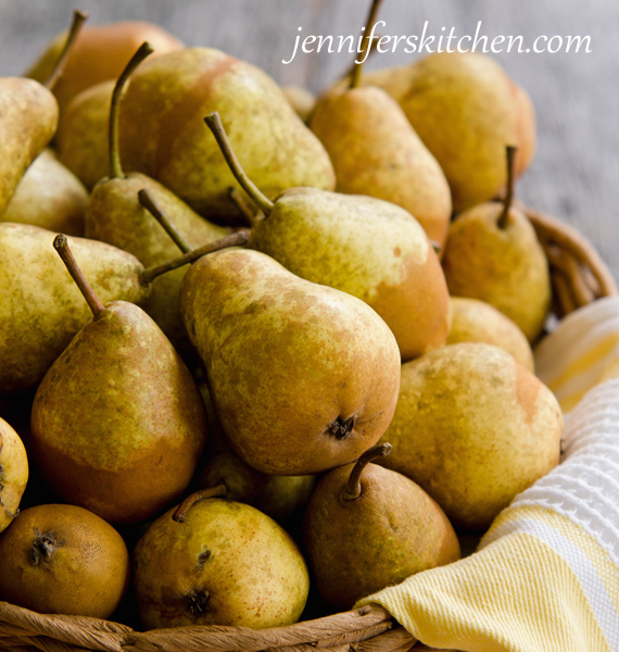 Canning pear sauce