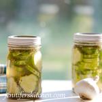 Lemon Refrigerator Pickles