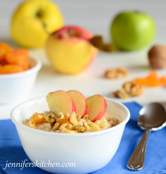 How to make oatmeal taste luscious!