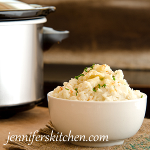 Keep Mashed Potatoes Warm in a Crock Pot