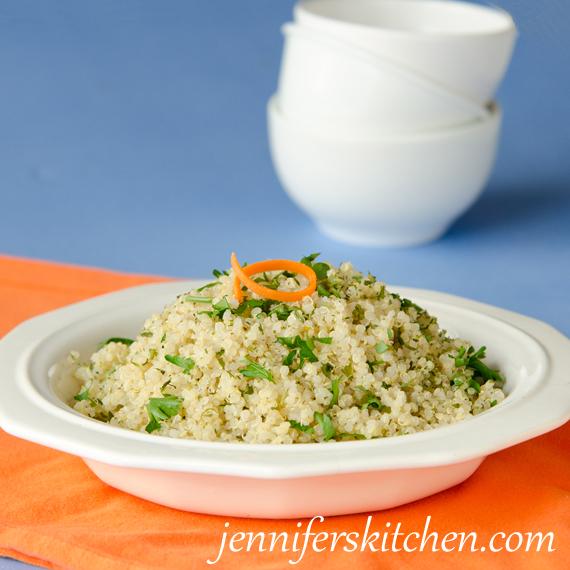 Simple Savory Quinoa Recipe
