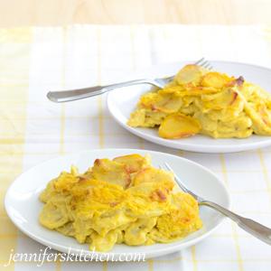 Skinny Scalloped Potatoes