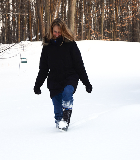 Snow Mom