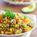 Tex Mex Beans and Rice – Meatless Monday