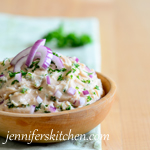 Low-Fat White Bean Garlic Dip