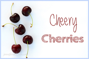Cheery Cherries and The Easiest Way to Pit Them (Video)