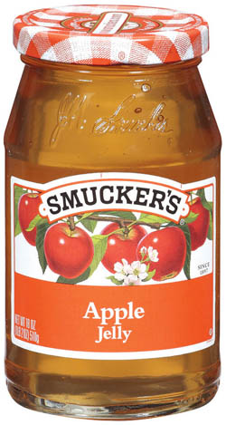 Is smuckers apple jelly a healthy choice?