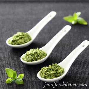 Healthy Low-Fat Pesto Recipe
