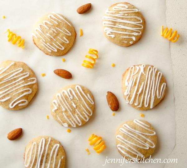 Gluten-Free Almond Orange Cookies | Jennifer's Kitchen