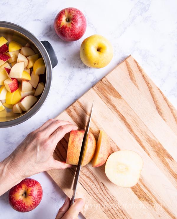 The best homemade applesauce