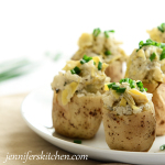 Artichoke-Stuffed-Potatoes