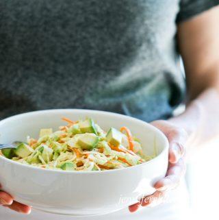 Avocado Cabbage Salad Recipe
