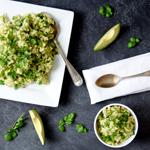 Avocado Lime Cilantro Rice