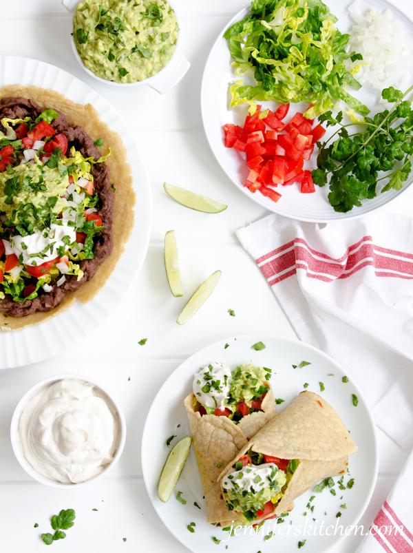 Vegan, Gluten-Free Bean Burritos