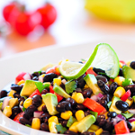Black Bean, Avocado, and Lime Salad