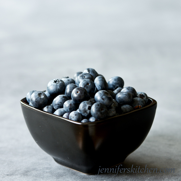 Berries for Berry Chia Breakfast Bowl