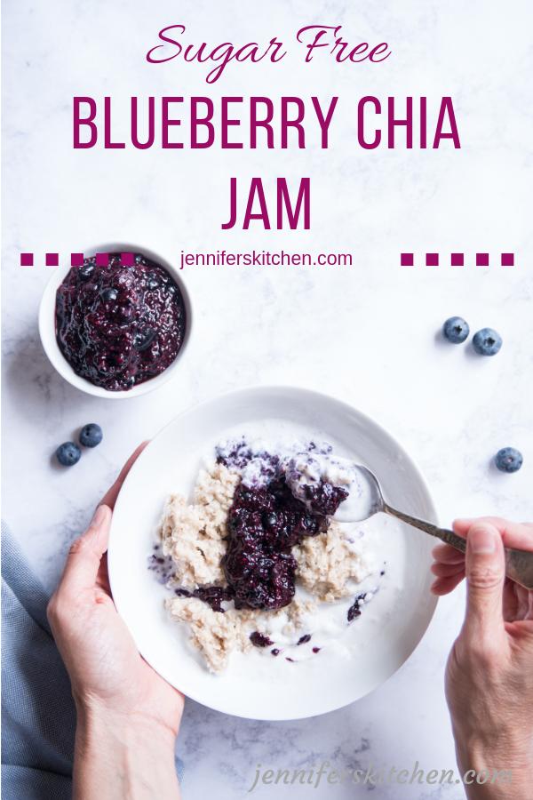 Homemade Chia Berry Jam