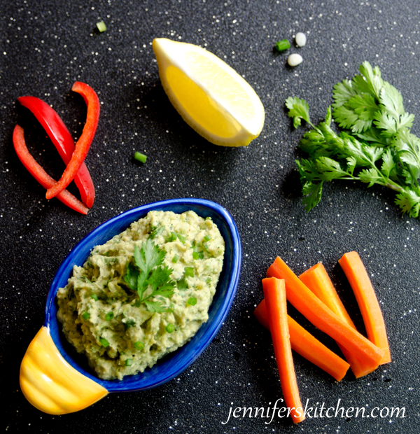 Broccoli-Avocado-Hummus