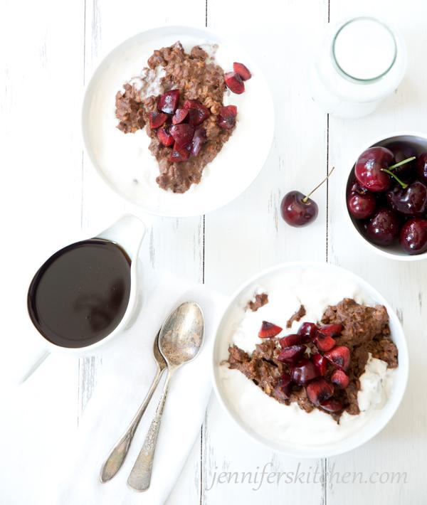 Healthy Chocolate Oatmeal Alternative - healthy breakfast ideas