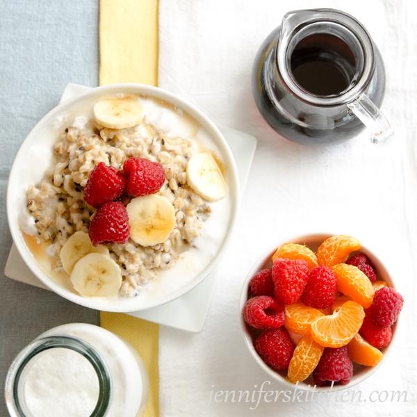 Gluten-Free, Vegan, Maple Coconut Mulit-Grain Cereal