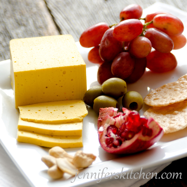 Recipe for Vegan Sliceable Cheese