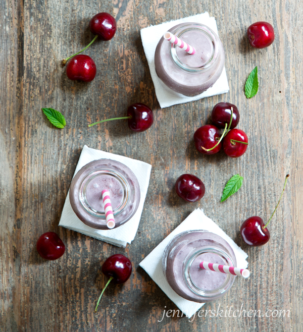 Vegan Cherry Milkshake