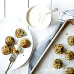 Chickpea Spinach Nuggets
