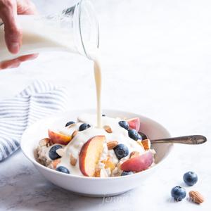 vegan homemade milk recipe