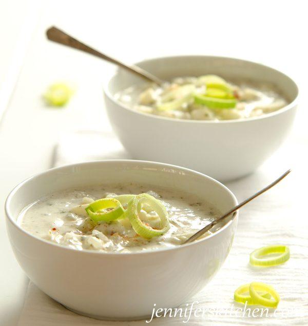 Vegan Cream of Artichoke and Potato Soup Recipe