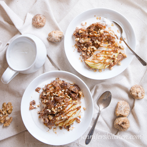 Fig Pear Oatmeal